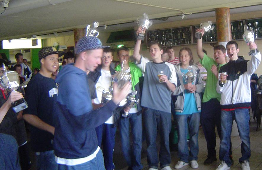 Spijkenisse B Kampioen 2006/2007